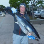 Matt with one of his Bluefin Tuna.