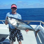 Mike with a Bluefin Tuna